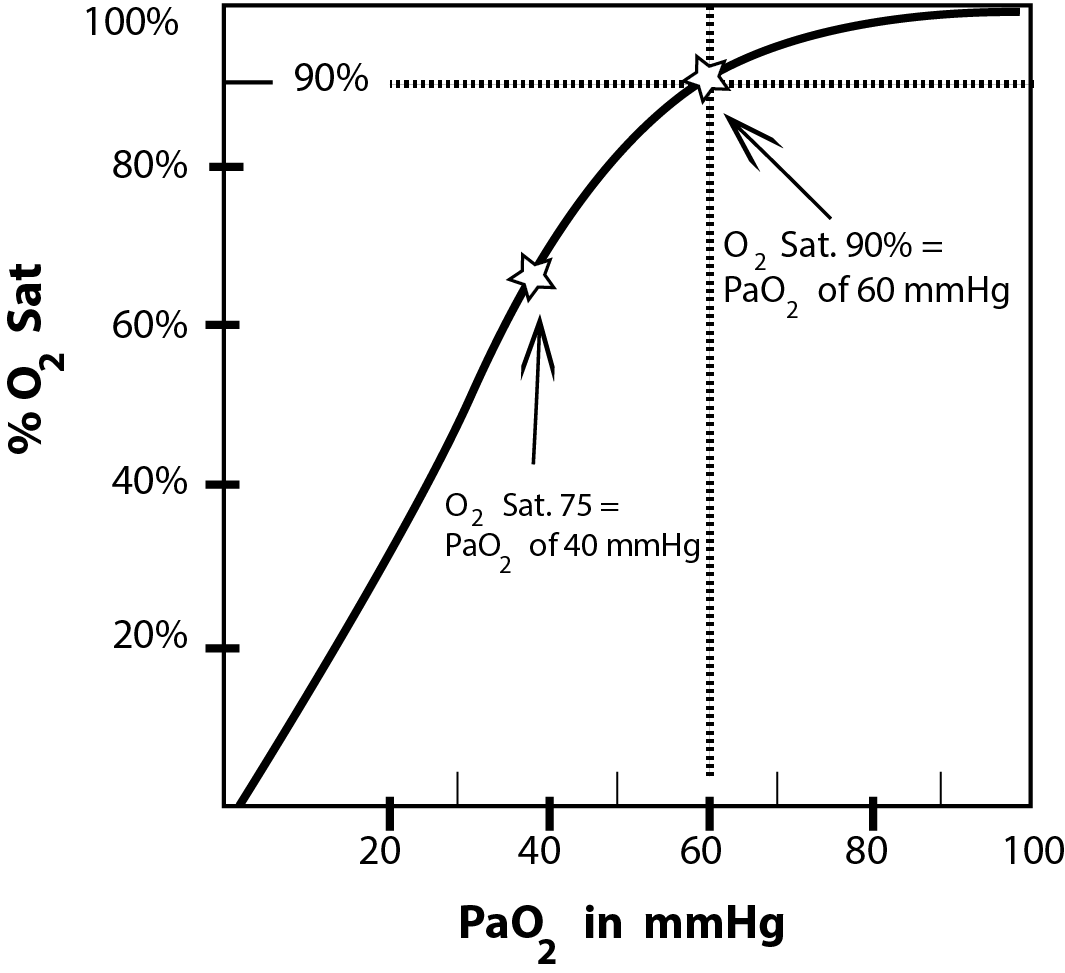 What's The Difference Between Oxygen Saturation And PaO2?The